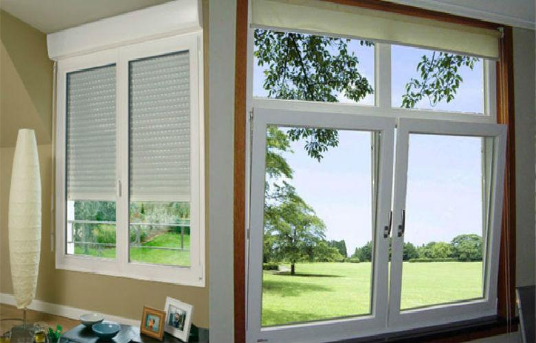 Ventana de aluminio precio cheap china de de aluminio for Precios de ventanas con persianas