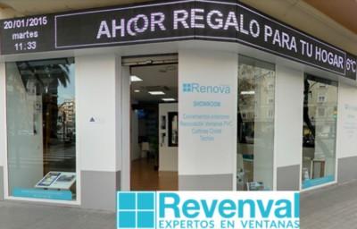 Revenval ventanas en Valencia