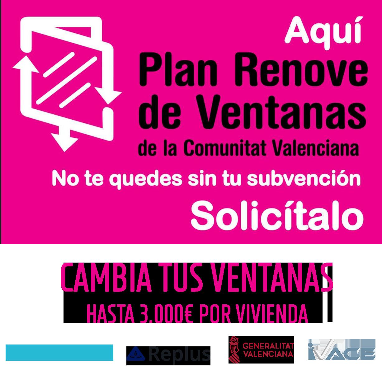 plan Renove Ventanas 2020